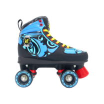 KRF Patines Completos Roller Disco Ethnic Azul
