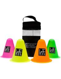 KRF Accesorio Hockey Conos Redondeados con bolsa