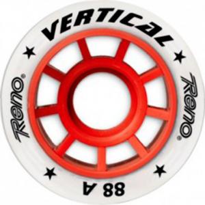 RENO Ruedas VERTICAL-88A ( Roja )